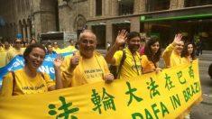 Praticantes do Falun Dafa do Brasil e do mundo celebram em Nova York