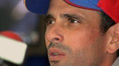 Capriles acusa Brasil de 'indiferença' diante da crise na Venezuela