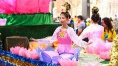 Desfile do Falun Gong clama por fim da sangrenta perseguição na China
