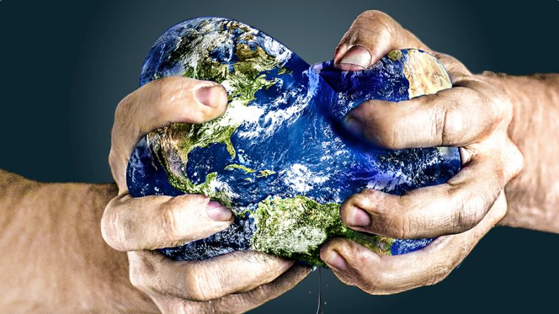 A crise global da água
