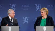 """Premier da Noruega: """"Esperamos uma limpeza com a Lava-Jato"""""""