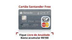 Justiça suspende venda do cartão de crédito Santander Free