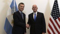 Mike Pence elogia reformas de Macri e pede maior pressão contra Maduro