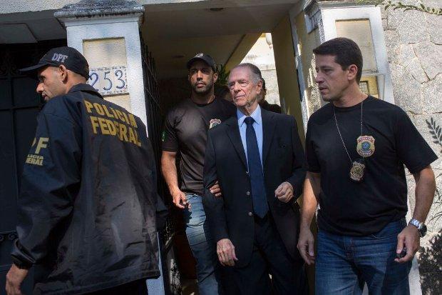Carlos Nuzman, presidente do Comitê Olímpico Brasileiro, é preso no Rio