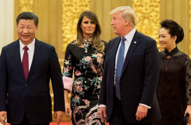 Durante visita de Trump, China fecha acordo comercial de US$ 250 bilhões com EUA