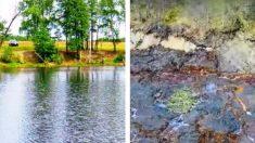 Lago na Rússia desaparece em questão de horas