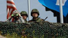 Tiros disparados quando soldado da Coreia do Norte deserta pela fronteira