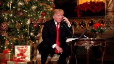 Desejo de Natal de Trump: 'Conseguimos prosperidade. Agora queremos paz'