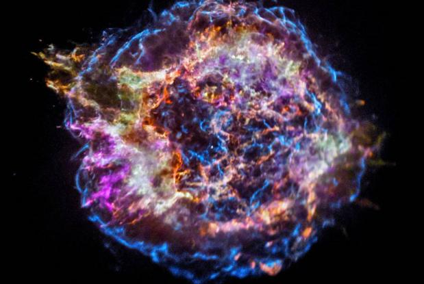 Explosão estelar sugere de onde vêm elementos formadores de vida