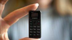 Empresa cria menor telefone celular do mundo (Vídeo)