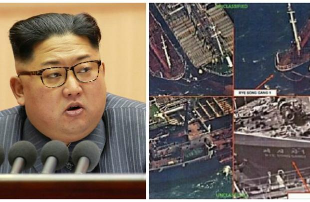 Satélites detectam navios chineses comercializando petróleo ilegalmente com Coreia do Norte