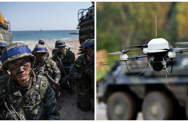 """Unidade sul-coreana de drones armados será """"elemento de mudança"""""""