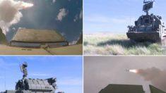 Rússia testa poderoso sistema de mísseis antiaéreos Tor-M2 (Vídeo)