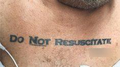 """Médicos enfrentam dilema ético ao descobrirem tatuagem """"Não Ressuscitar"""" em paciente"""