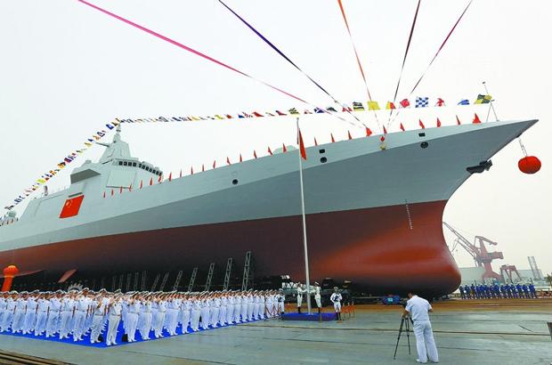 A corrida armamentista do regime chinês para alcançar supremacia naval