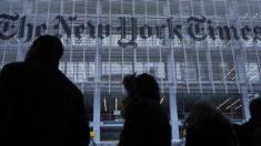 New York Times aparece no topo da lista do presidente Trump sobre Notícias Falsas