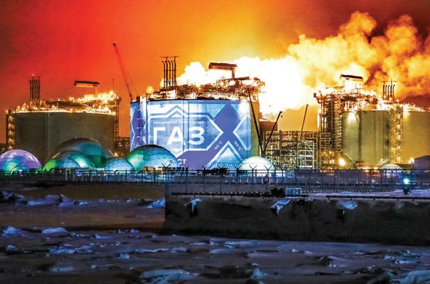 Rússia desafia EUA no mercado global de gás natural liquefeito, GNL