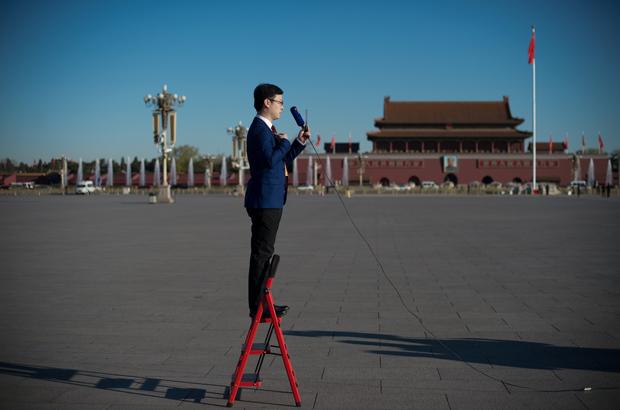 Ser um repórter na China envolve riscos reais
