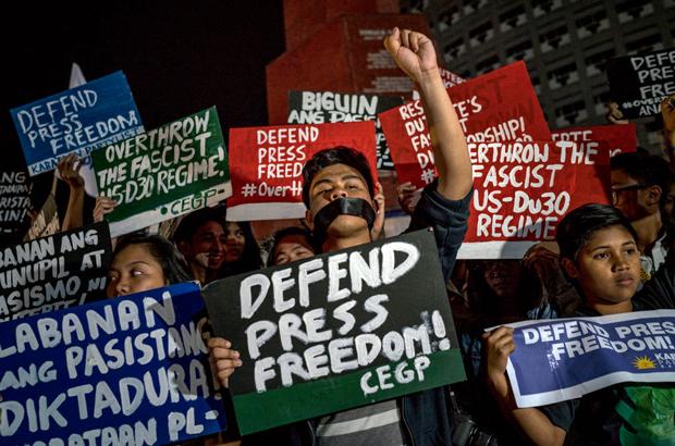 Filipinas lutam com a democracia