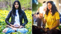 A supermodelo Pooja Mor nos conta como uma meditação mantém sua base no mundo do glamour