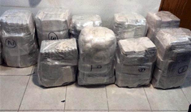 Mais de meia tonelada de drogas ilegais foi descoberta pela polícia mexicana em Ensenada, Baja California, México (Polícia Federal do México)