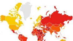 Índice de corrupção em 2017 tinge de vermelho América Latina