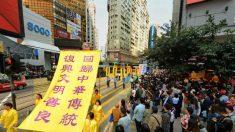 Hong Kong comemora 300 milhões de renúncias ao Partido Comunista Chinês