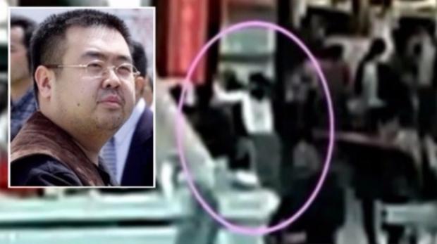 Kim Jong Nam no aeroporto no dia de sua morte (ITV.CAM)
