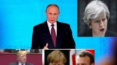 EUA, Reino Unido e Alemanha acusam Rússia do atentado com