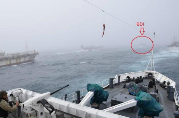 Argentina pede captura de navios chineses que tentaram colidir com navio da guarda costeira