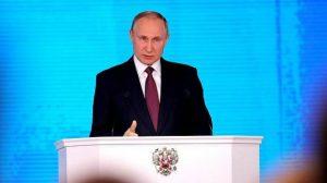 """Putin anuncia novas armas e mísseis """"invulneráveis"""" de alcance ilimitado (Vídeo)"""