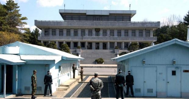 Panmunjom, fronteira entre Coreia do Norte e Coreia do Sul (Pinterest)