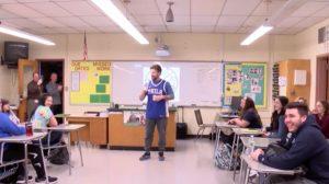 Empatia e consideração: alunos se comovem pelo professor