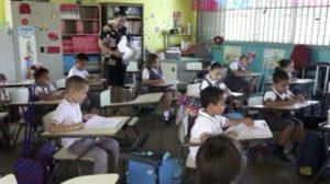 Com apenas 7 anos, teve um gesto humanitário que ajudou crianças em outro país