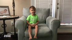 Os truques que esse menino de três anos faz com a bola de basquete você não vai acreditar!