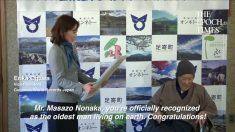 Japonês de 112 anos é reconhecido pelo Guinness como homem mais velho vivo