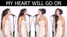 Cantora faz todas as partes em música famosa. Vale a pena ouvir!