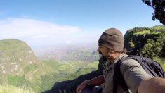Explorador filma grande comunidade de macacos raros na Etiópia