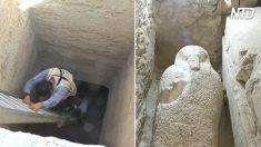 Descoberta tumba de faraó no Egito, mas ladrões chegam antes dos arqueólogos