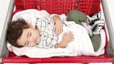 Após comover público com imagem de bebê em carrinho de compra, mãe faz série de fotos adoráveis