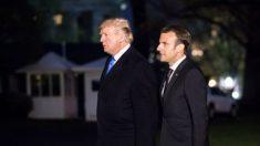 Presidente da França concorda com Trump em adotar abordagem mais ampla sobre Irã