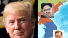 Trump dá sua bênção para fim oficial da guerra entre Coreias