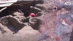 Salão de banquetes cerimonial de 1.700 anos da civilização mochica é desenterrado no Peru