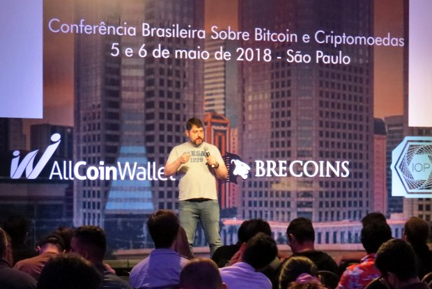 VI BitConf (Conferência Brasileira Sobre Bitcoin e Criptomoedas), no World Trade Center, em São Paulo (Bruno Menezes/Epoch Times)