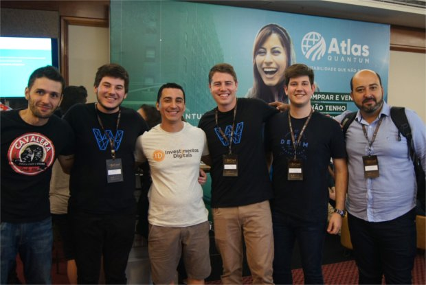 VI BitConf (Conferência Brasileira Sobre Bitcoin e Criptomoedas), no World Trade Center, em São Paulo (Jan Hendriks Jr., para Epoch Times)