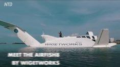 Parte-avião e parte-barco: veja do que esta invenção fantástica é capaz