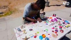 Homem passa 10 anos na prisão e não consegue emprego depois de libertado, mas encontra seu caminho na arte