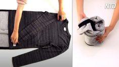 Se seu guarda-roupa está sobrecarregado, você precisa aprender essas 7 técnicas fantásticas de dobrar roupas