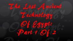 Pesquisadores apresentam evidências da impressionante tecnologia no Antigo Egito
