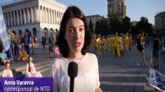 Praticantes de disciplina espiritual chinesa realizam festividades na Ucrânia (Vídeo)